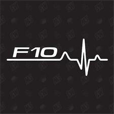 F10 Herzschlag - Sticker kompatibel mit BMW - Aufkleber, Tuning, Fan, EKG