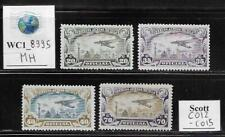 WC1_8995. MEXICO. 1930 air post official set. Scott CO12-CO15. MH