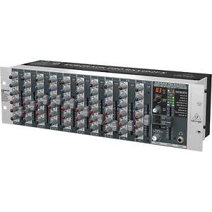 Behringer Eurorack PRO RX 1202 FX V2 Mischpult Preamp Equalizer Effects