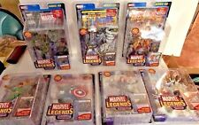 MARVEL LEGENDS SERIES 8 COMPLETE 7 FIGURE SET IRON MAN BLACK WIDOW ICEMAN D45