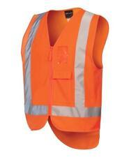 Jb's Hi Vis Zip (d+n) Ttmc-w Vest (6DNDT)