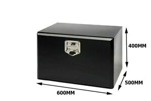Toolbox Black Powder Coated 600X400X500