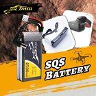 Tattu 2500mAh 7.4V 2S Lipo Battery For Fatshark Goggles DC5.5mm Plug Indicator