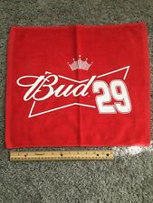 Budweiser Nascar Bar Towel #29.