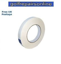 DOUBLE SIDED GOLF GRIP TAPE ROLL- 19mm x 50m (100 Clubs) + Free P&P