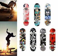 WESKATE 31 Zoll Skateboard Komplett Cruiser Board Longboard Ahornholz Board DE