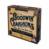 2020 UPPER DECK GOODWIN CHAMPIONS HOBBY BOX