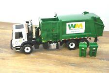 First Gear Garbage Truck 1/34 Scale Mack Heil Waste Management Side-Loader