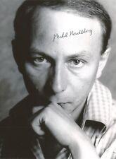 Michel HOUELLEBECQ - Photographie signée - Autographe