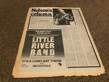 """(PMP10) ADVERT 7X6"""" LITTLE RIVER BAND : IT'S A LONG WAY THERE SINGLE"""