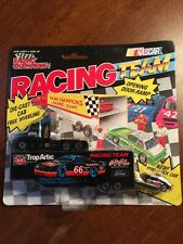 Racing Champions Inc Team Transport Semi Truck+Trailer+Car #66 Trip Artic Oil