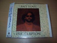 Rare ERIC CLAPTON Bad Love - 2 Track CD Single - Japan Import - LIKE NEW !