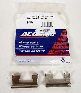 Brand New - AcDelco Brake Retainer Brake Clips ACD# 179-1352 GM# 18044324