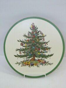"""Spode Christmas Tree Trivet Hot Plate - Cork Back - 10"""""""