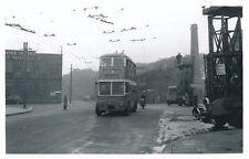 Transport Yorks BRADFORD Allerton Rd Trolley Bus #586 Photograph 1958 by Packer