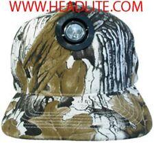Head-Lite Original Flashlight Hat - Winter / Desert Camouflage - Brand New