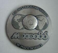 FIFA 1986 SOCCER FOOTBALL WORLD CHAMPIONSHIP MEXICO POLISH POLAND MEDAL