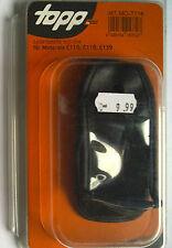 Mt-mo-t114 Custodia in Pelle Eco-Line per Motorola c116; c118; c139