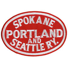 LARGE-SP&S Spokane Portland & Seattle embroidered patch