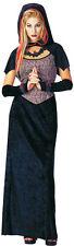 Lady DARK ROSE MAIDEN Costume Goth Dress Cape Necklace Gloves Adult Medium 10 12