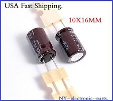 (12PCS) 120UF 50V NICHICON RADIAL ELECTROLYTIC CAPACITOR.PJ(M).10X16MM