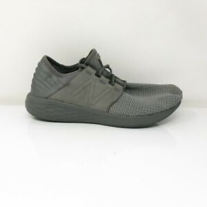New Balance Mens Fresh Foam Cruz V2 MCRUZNG2 Gray Running Shoes Size 11.5 D