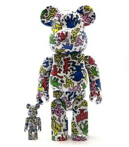 Bearbrick Keith Haring 2018 White 400% 100% New In Box Medicom Rare