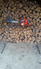 Homemade Log Saw Holder for Chainsaw Log Saw Bench Saw Horse Holder for Cutting