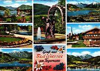 Gruß aus Bad Wiessee am Tegernsee , Ansichtskarte , 1970 gelaufen