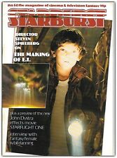 Starburst 54 (1982) Steven Spielberg on ET, Sybil Danning interview
