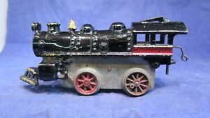 American Flyer Prewar O Gauge Large Cast Iron Clockwork Steam Locomotive! CT