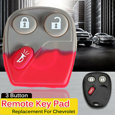 REMOTE KEY KEYLESS FOB REPAIR REPLACEMENT RUBBER BUTTON PAD FOR CHEVROLET GMC