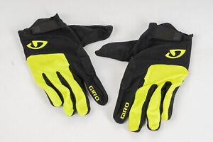 Giro Bravo LF Gel Cycling Gloves Full Fingers Size XXL Highlight Yellow