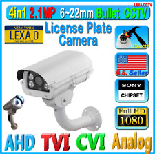 LexaCCTV 4in1 1080P 2MP License Plate Long Range CCTV Security Camera AHD TVI