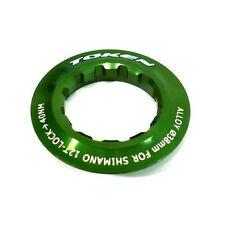 gobike88 TOKEN Lock Ring for Shimano Cassette, 12T, Green, 024