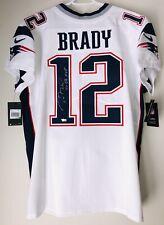 Tom Brady Signed New England Patriots Autographed Nike Authentic Jersey FANATICS