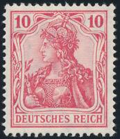DR 1905, MiNr. 86 I a, tadellos postfrisch, gepr. Jäschke, Mi. 60,-