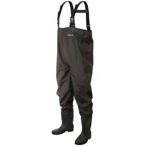 Frogg Toggs Rana II PVC Bootfoot Cleated Chest Waders Sizes 7-13 #2715249