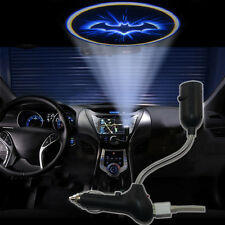 Cool Knight blue bat Car cigarette lighter roof LED logo projection shadow light