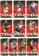 2005 SELECT POWER NRL TEAM OF THE YEAR COMPLETE 10 CARDS INSERT SET