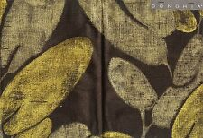 Donghia Official: Magnolia in Black, Sold by the Yard - 16 yds available