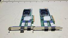2 PC BroadcoM BCM957711A1113G 10GB 10G Optical Network Card 0KJYD8