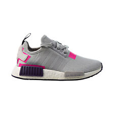 Adidas NMD R1 Women's Shoes Grey-Pink-Purple BD8006