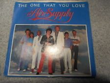 AIR SUPPLY   THE ONE THAT YOU LOVE    7 INCH   WITH PICTURE SLEEVE  483