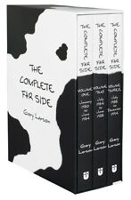 The Complete Far Side Collection 3 Books Box Set Gary Larson Children Gift Pack