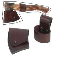 Tourbon Leather Axe Head Holster Blade Sheath Kits Hatchet Cover Handle Loop Set