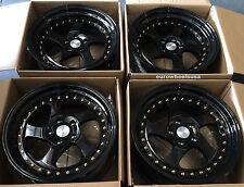 "17"" ESR SR02 Black Wheels Set 5x114.3 17X8.5 +30 For Mazda 3 5 6 Rims Set of 4"