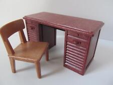 Playmobil Desk & chair NEW dollshouse/Victorian/school/police station furniture