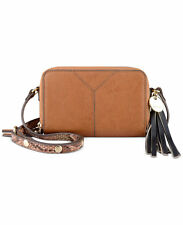 Nine West Tasseled and Tied Crossbody Bag Tobacco color NWT