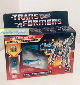 Transformers Generations Deluxe Headmasters Retro Style G1 BRAINSTORM New Hasbro